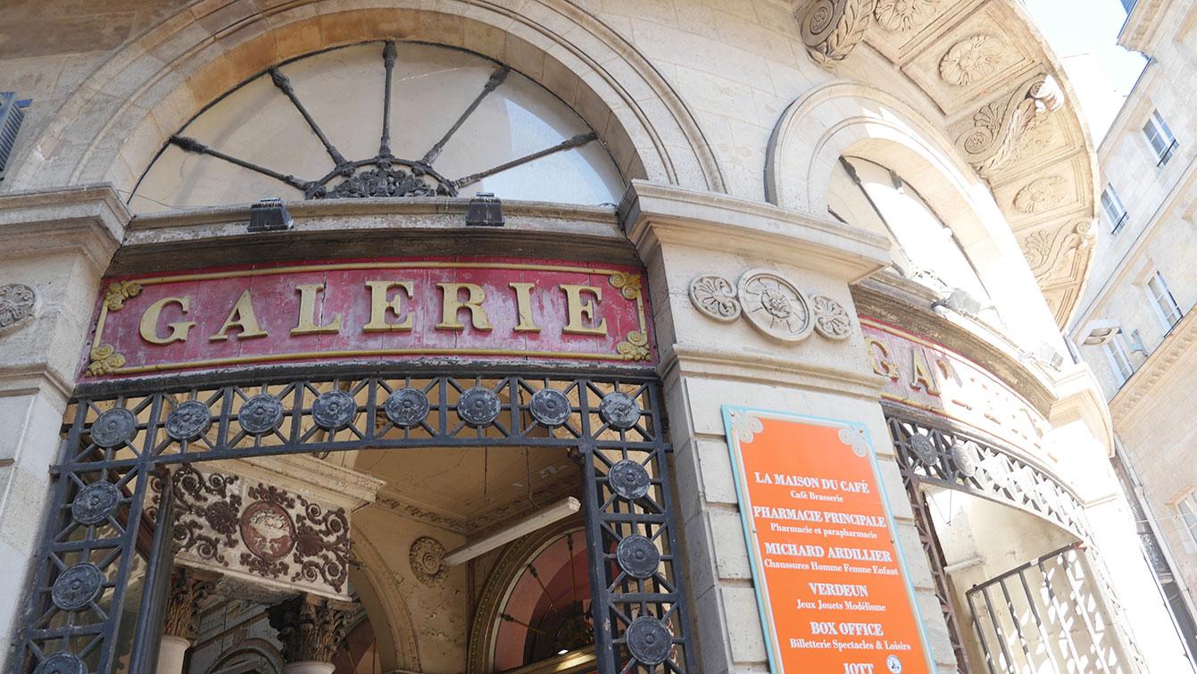 La Galerie Bordelaise rue Sainte-Catherine