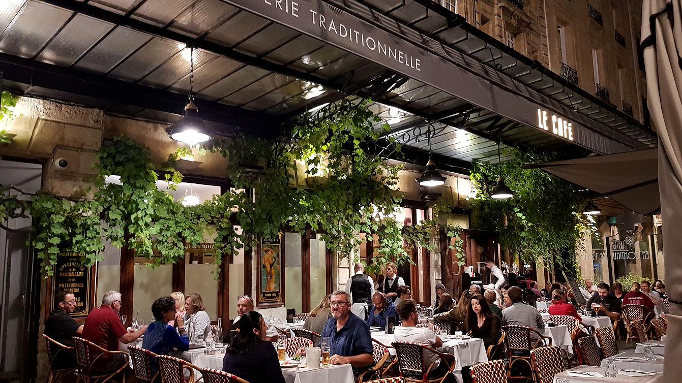 Le café Français Bordeaux