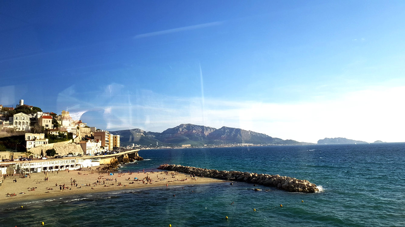 La Corniche JK Kennedy , Marseille