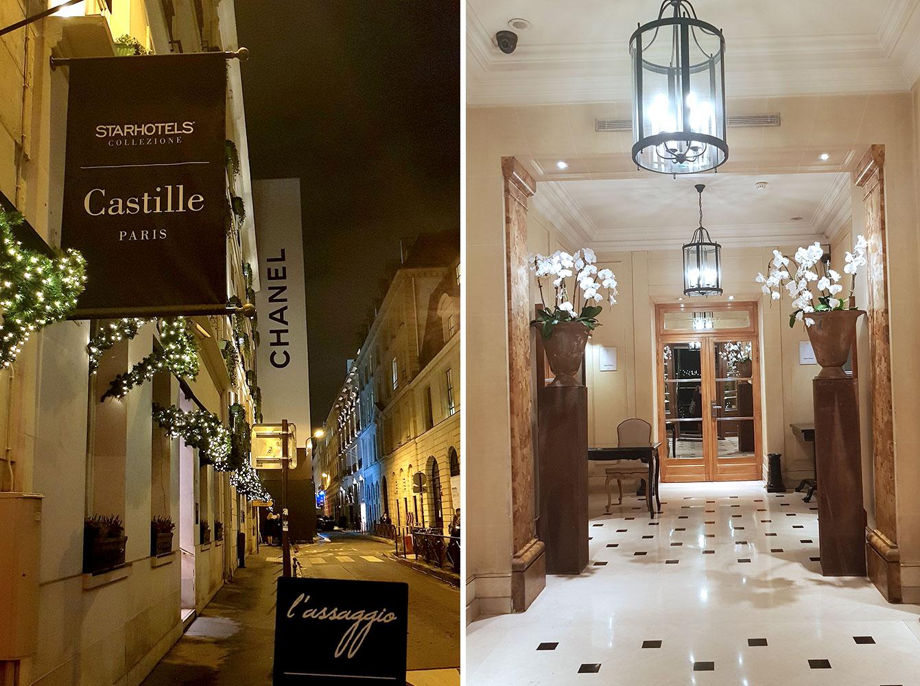 l'hôtel Castille