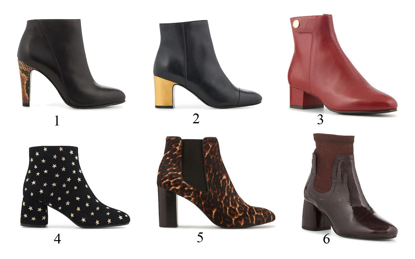 soldes chaussures femmes : bottines