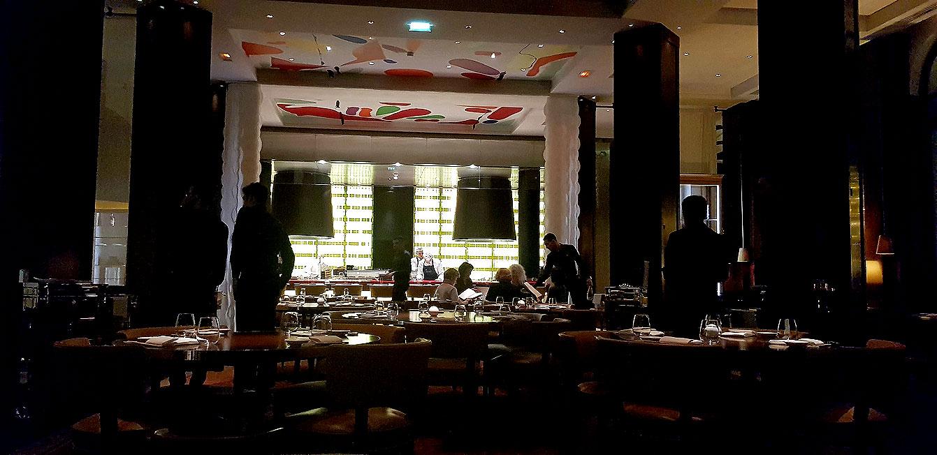 Les restaurant Matsuhisa Paris du Royal Monceau