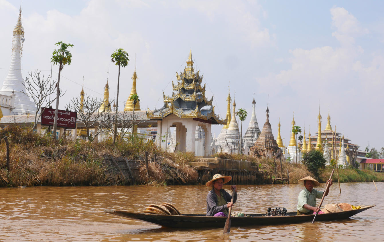 Le lac Inle, Birmanie, Myanmar