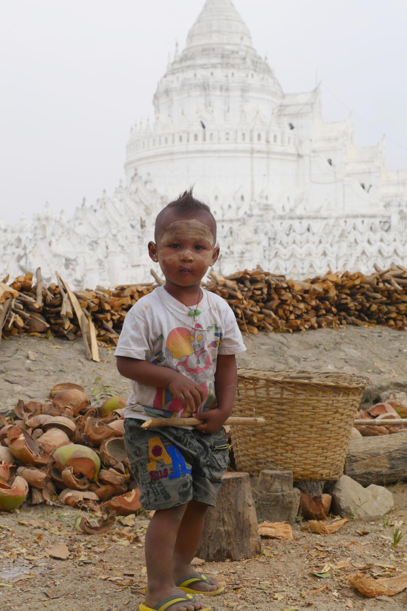 Mingun, Birmanie, Myanmar