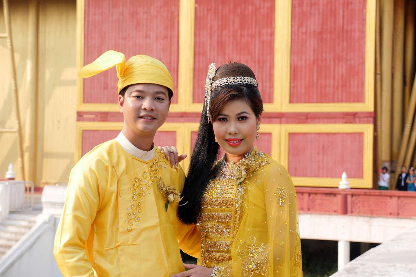 Mariage à Mandalay, Birmanie, Myanmar