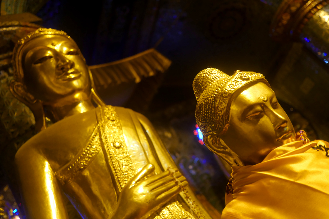 Pagode Shwedagon, Rangoon, Yagon, Birmanie, Myanmar