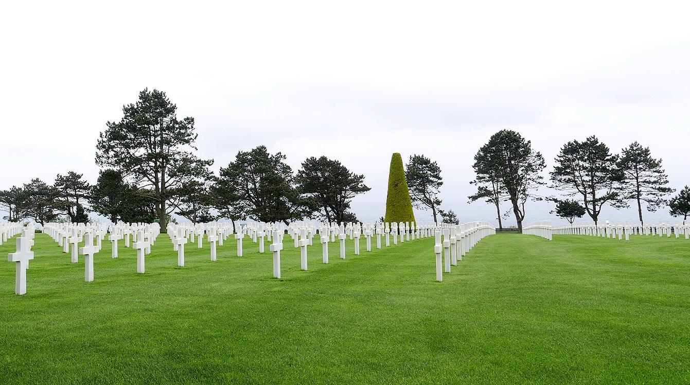 cimetière militaire américain de Colleville-sur-Mere