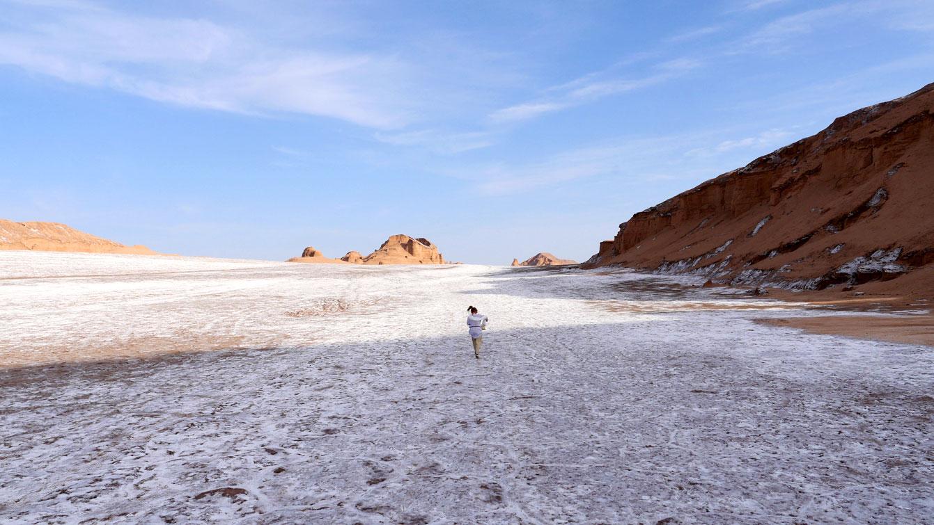 désert Dasht-e Lut