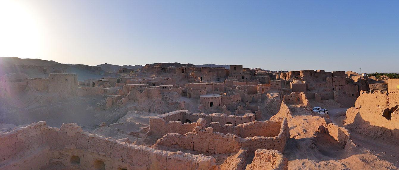 La vieille citadelle de Keshit