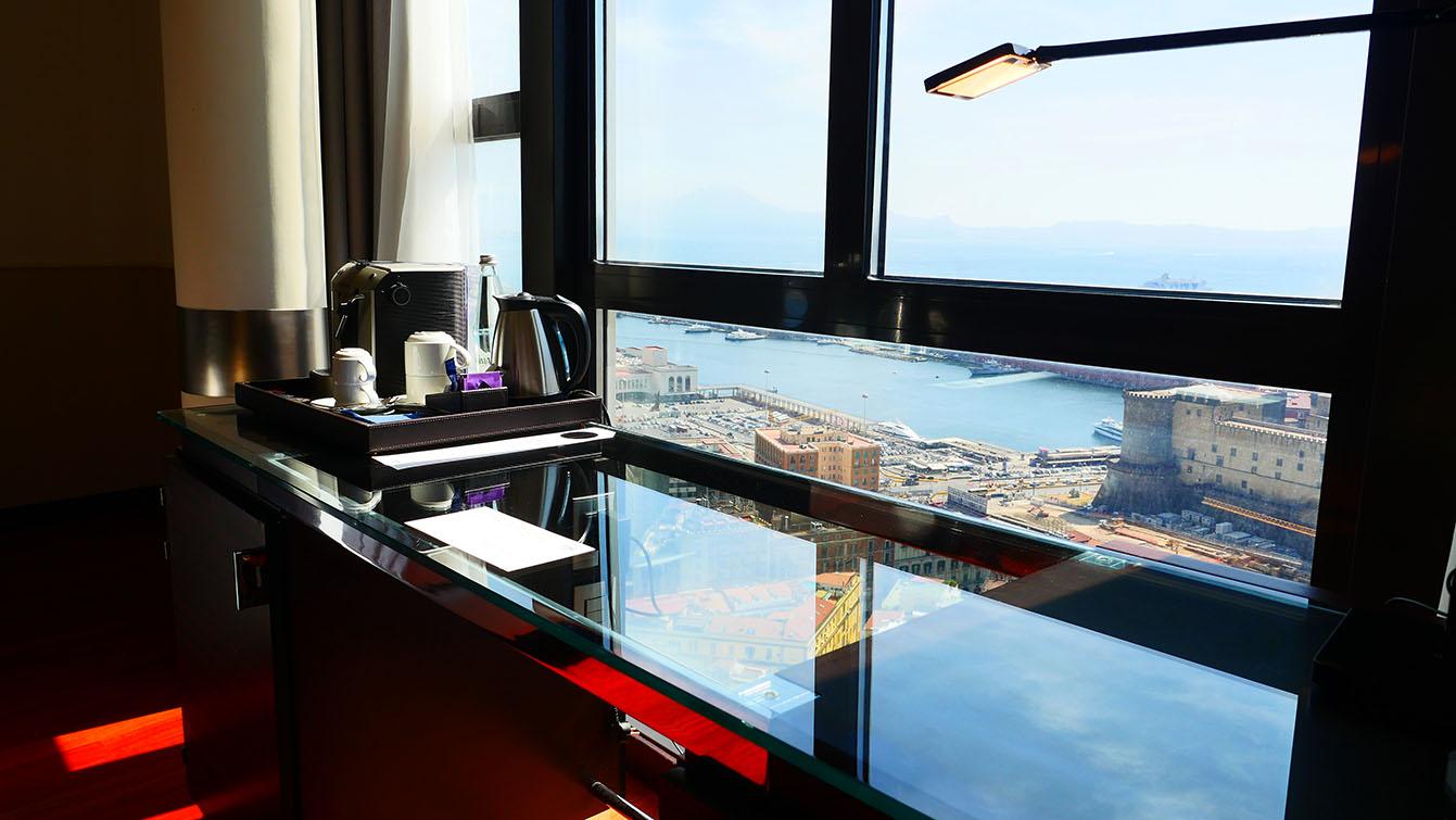 L'hôtel NH Napoli Panorama, Naples