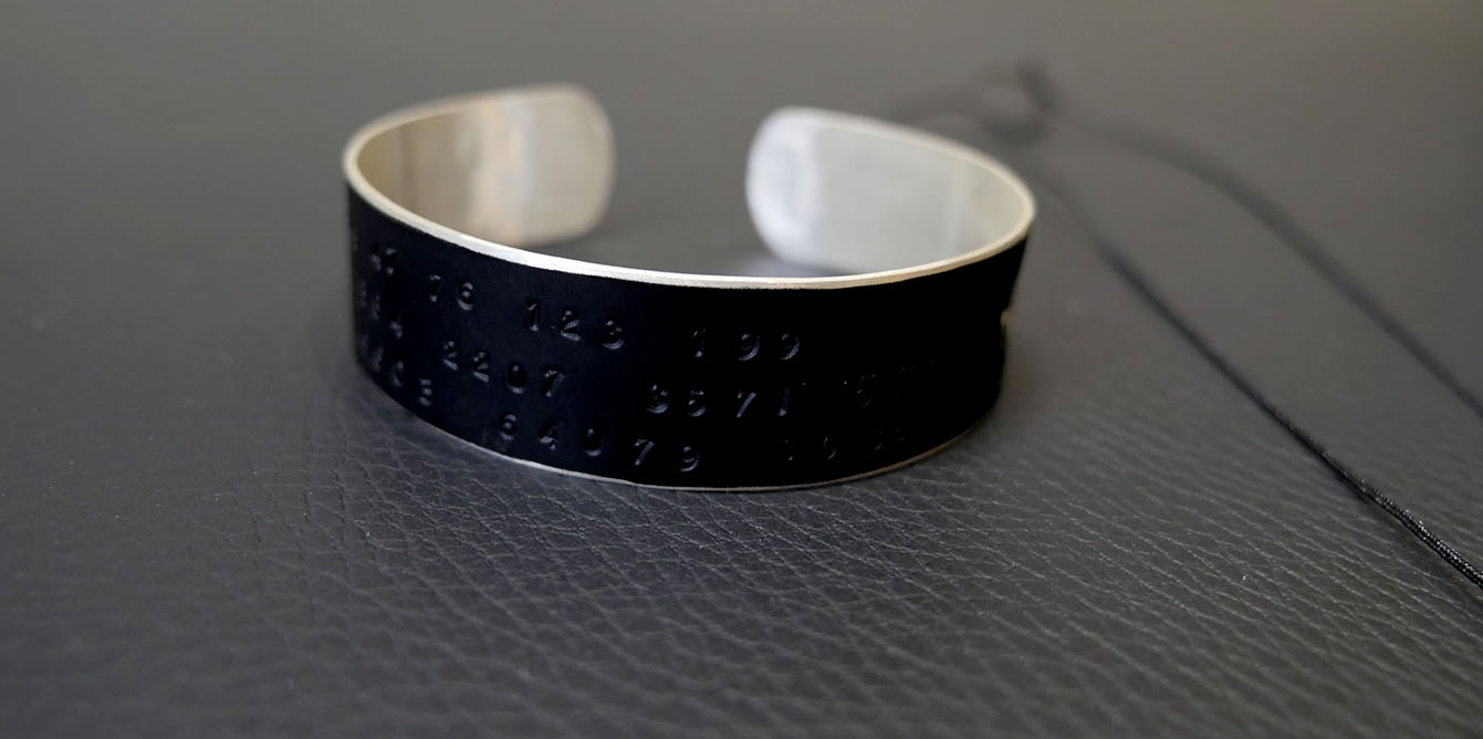 Les bijoux design et unisexes de Lucie Blanche