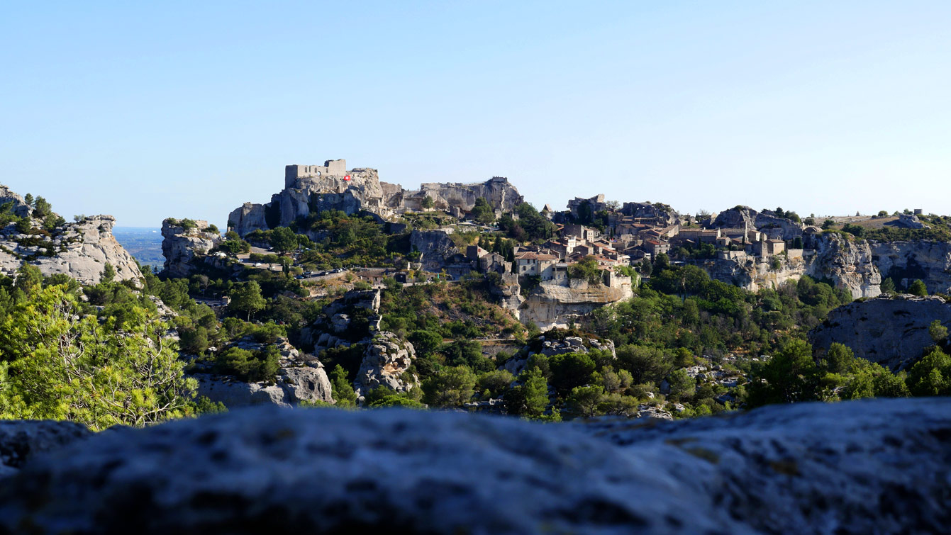 Le village Les Baux-de-Provence