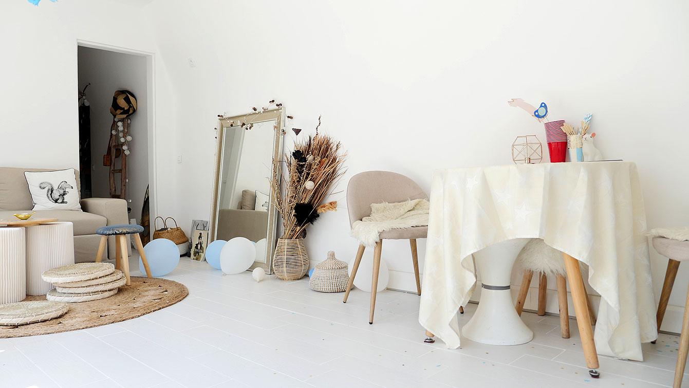 "Ambiance Bord De Mer Chic rénovation salon : 2 versions ambiance ""bord de mer"" par"