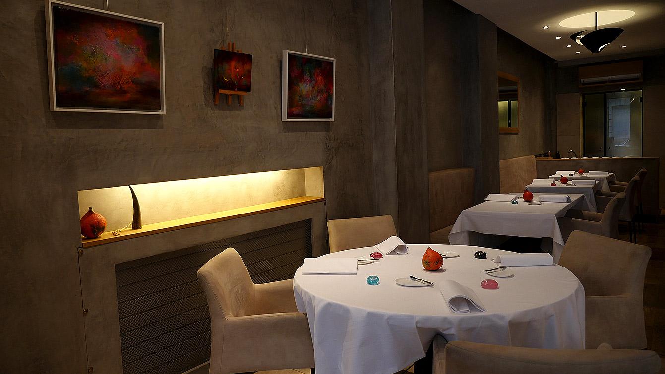 "Restaurant ""Etude"", 75016"