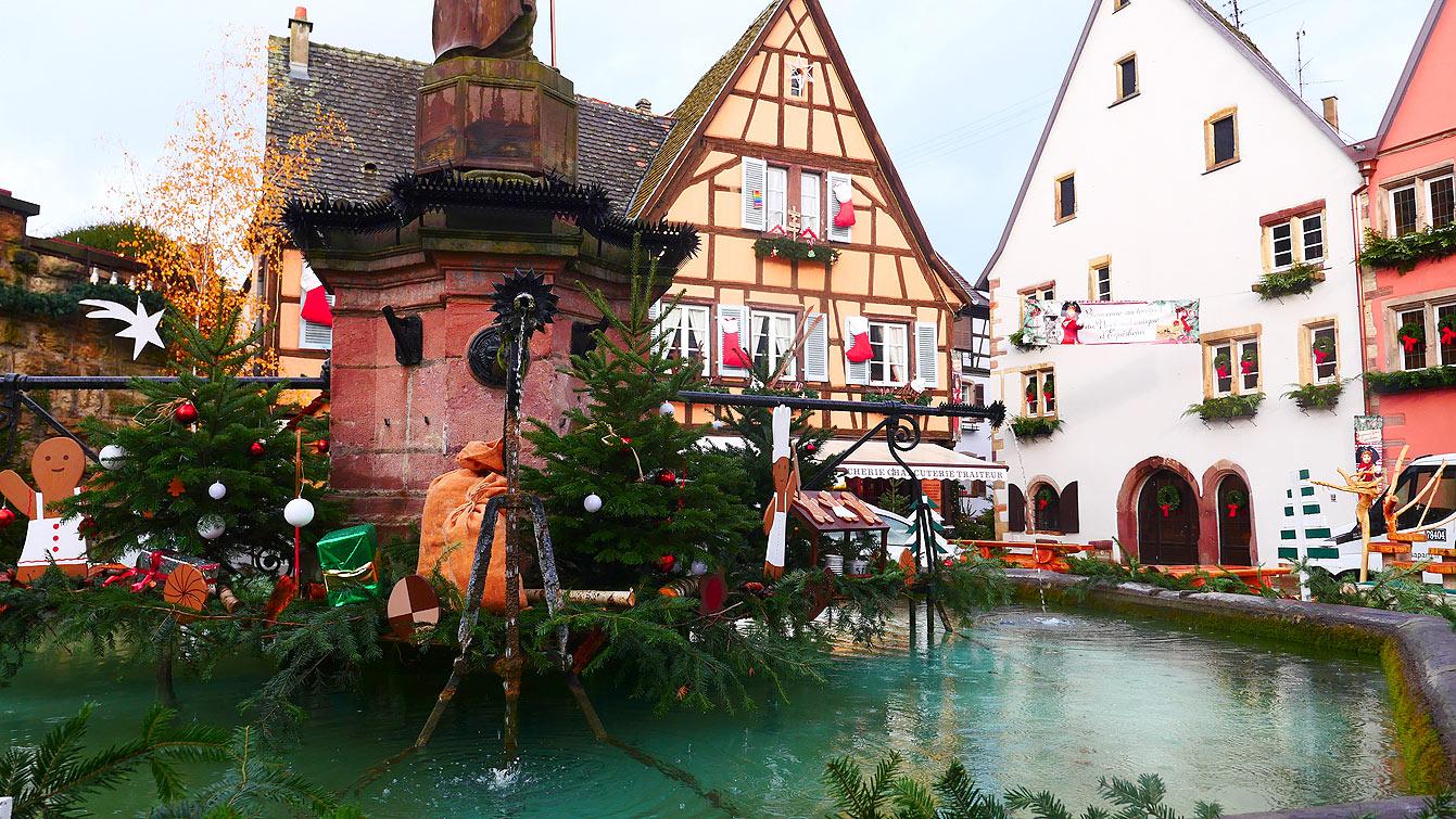 Visite guidée d'Eguisheim,