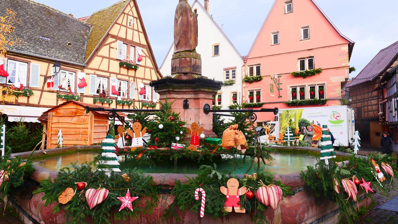 Visite guidée d'Eguisheim