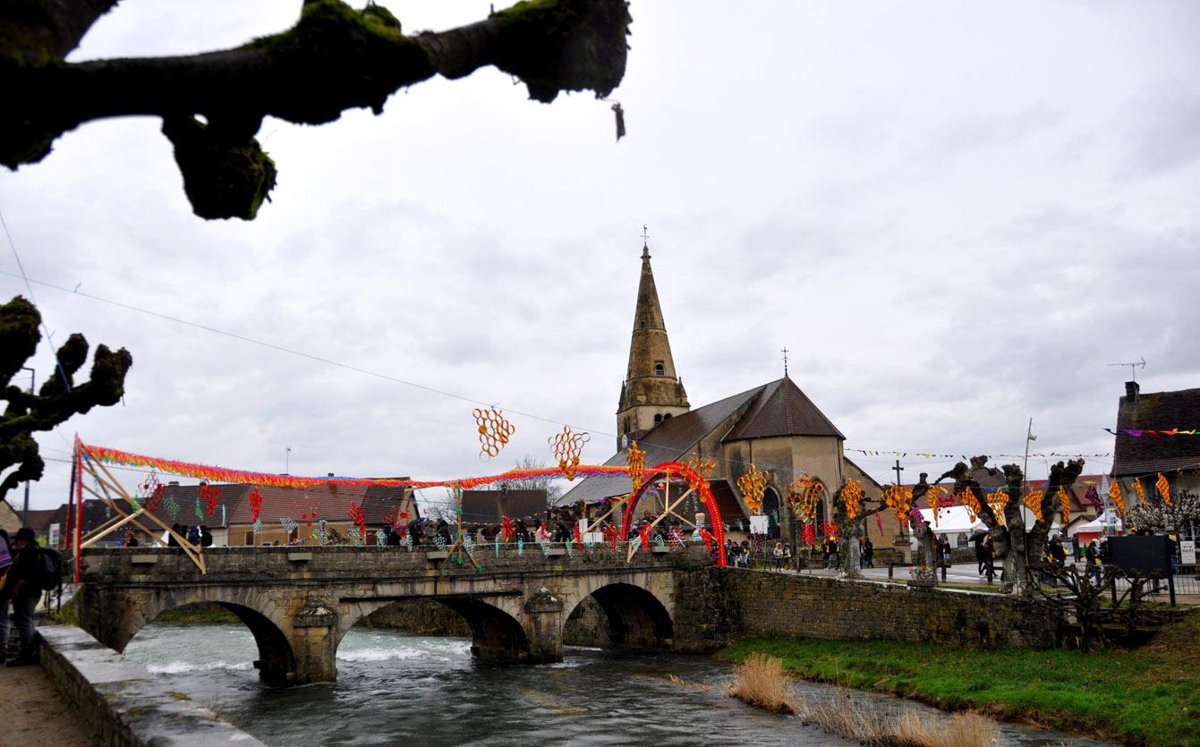 La Percée du vin jaune à Ruffey-sur-Seille