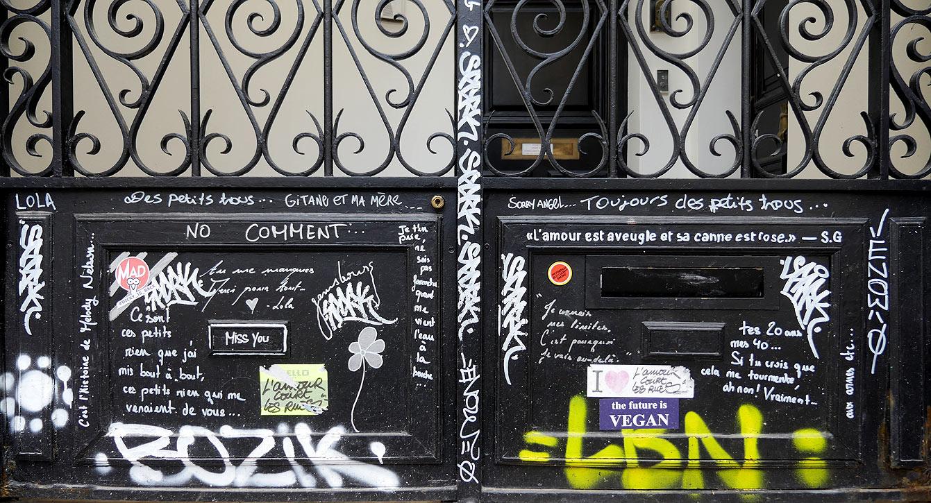 L'hôtel particulier de Serge Gainsbourg...