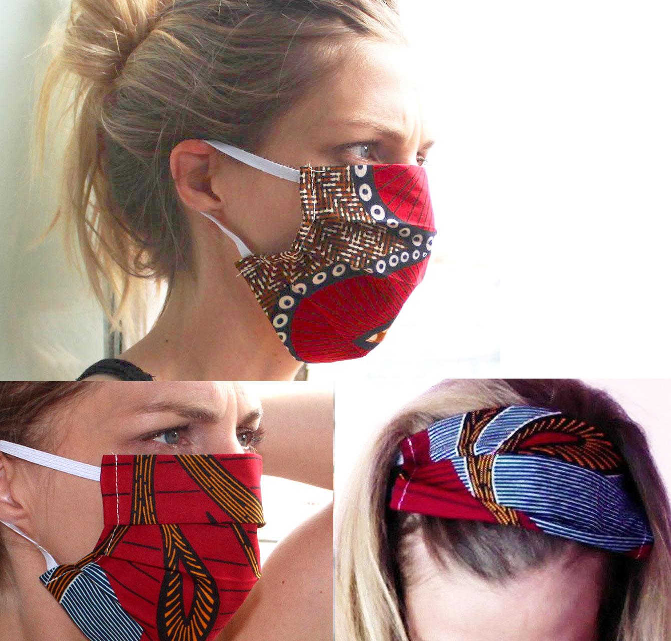 """Masque """"Capuches à mémé"""""""