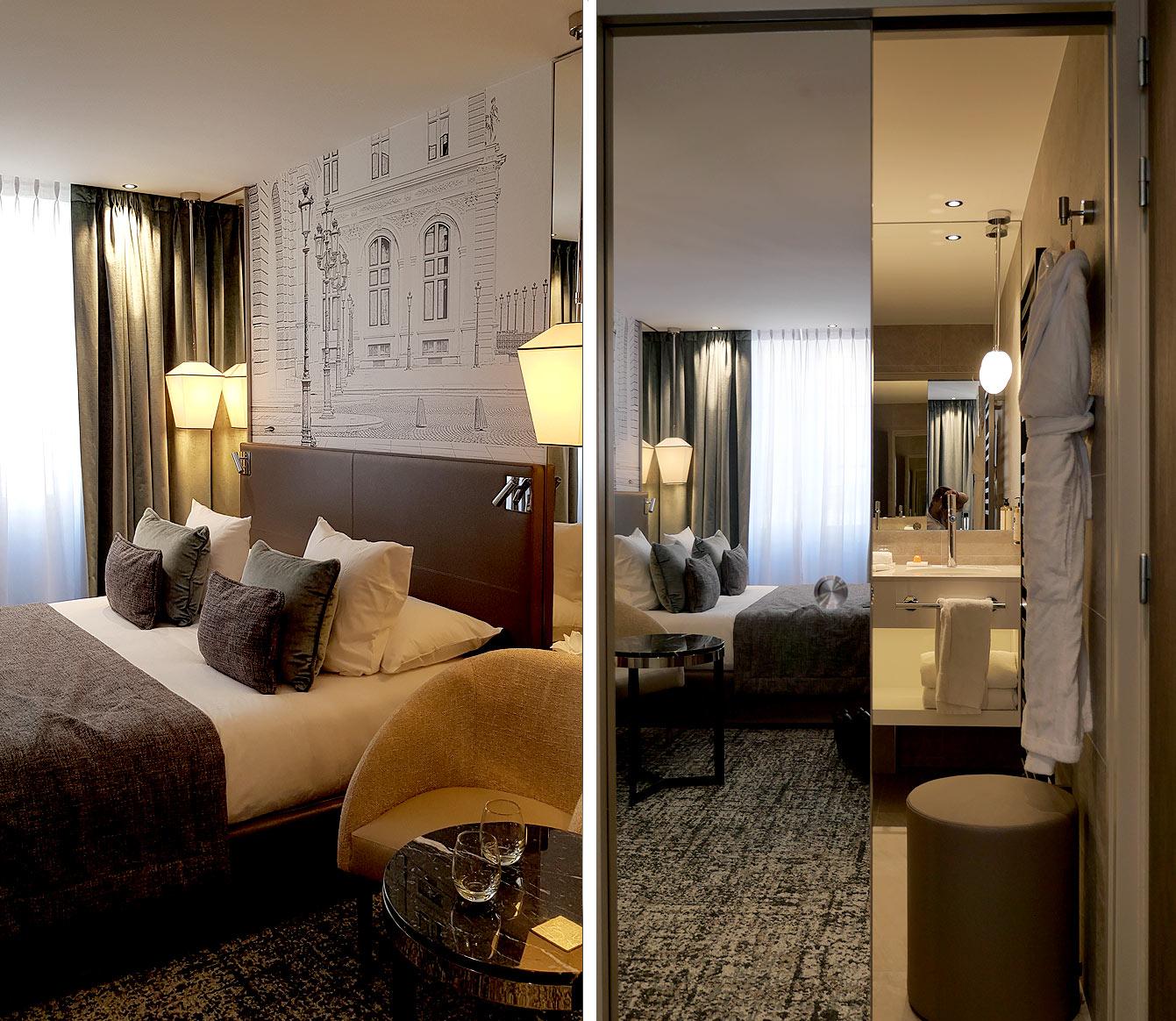 Chambre 38 : Hôtel la Lanterne