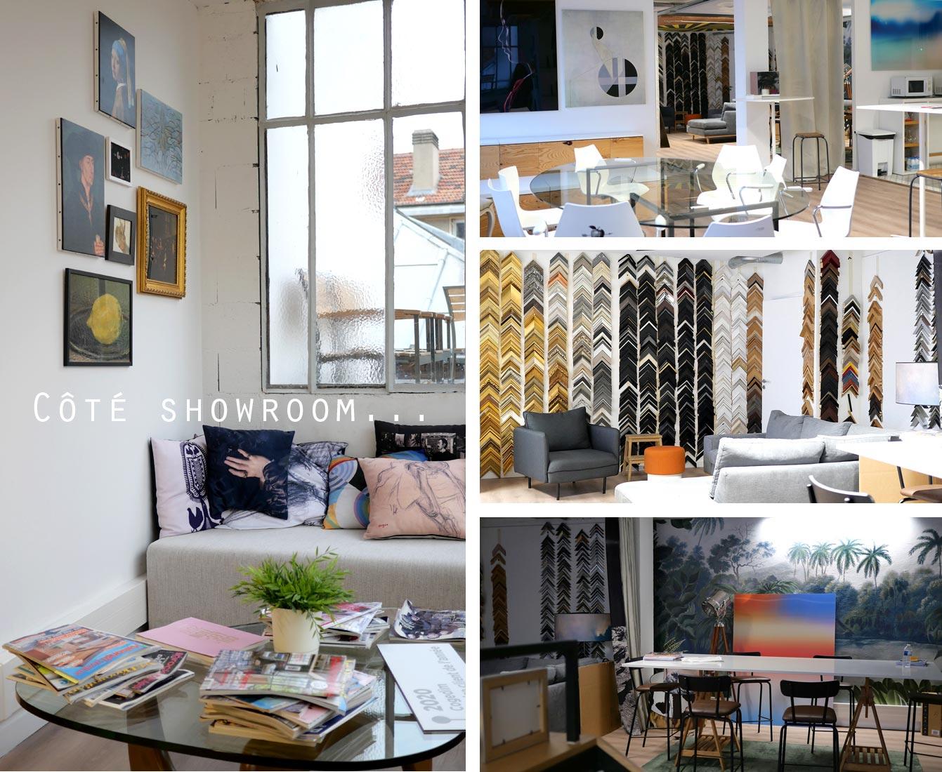 Muzeo, spécialiste de la reproduction d'art haut de gamme : showroom