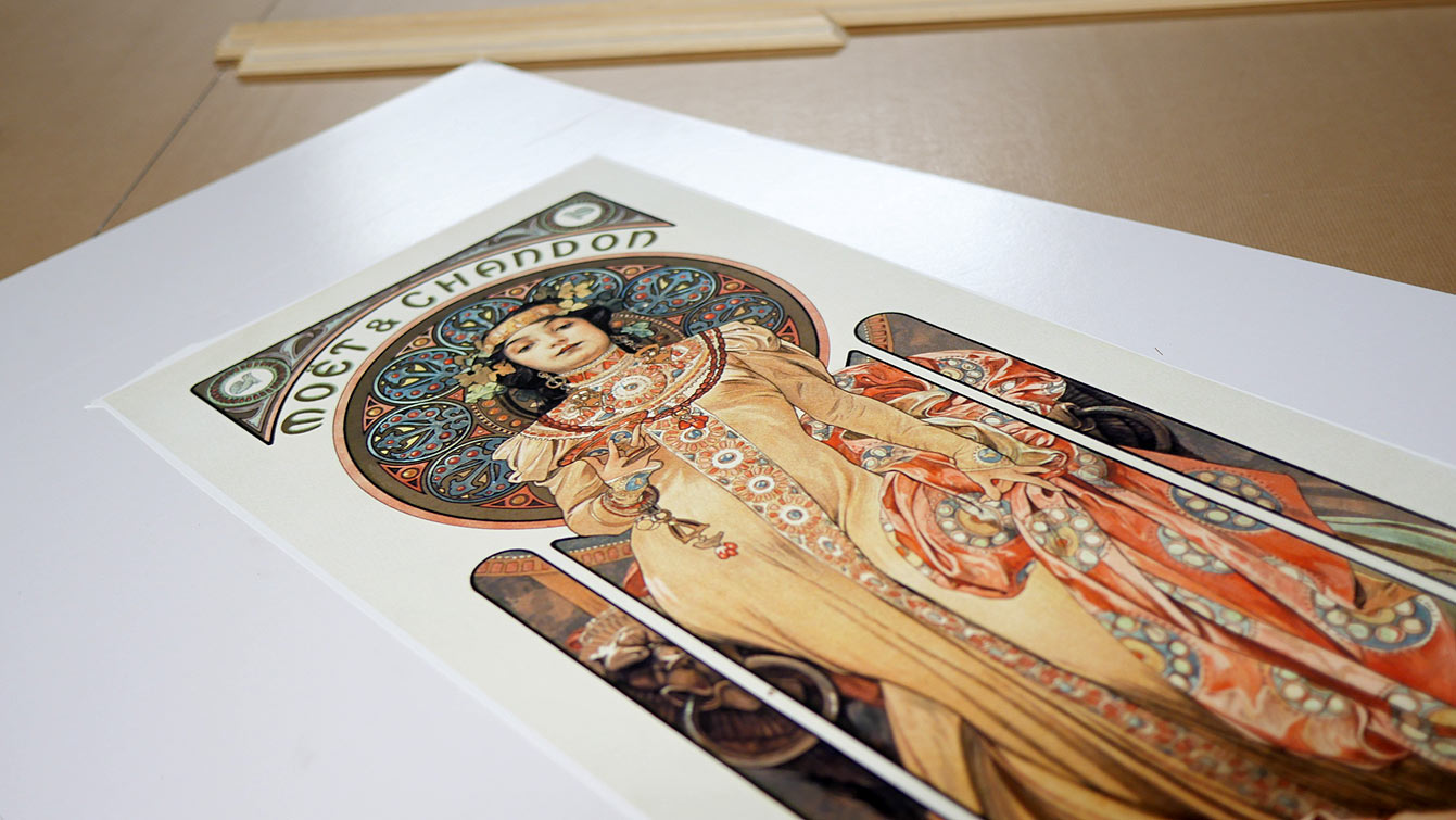 Moët & Chandon : Grand Crémant Impérial de Alfons Mucha, Muzeo