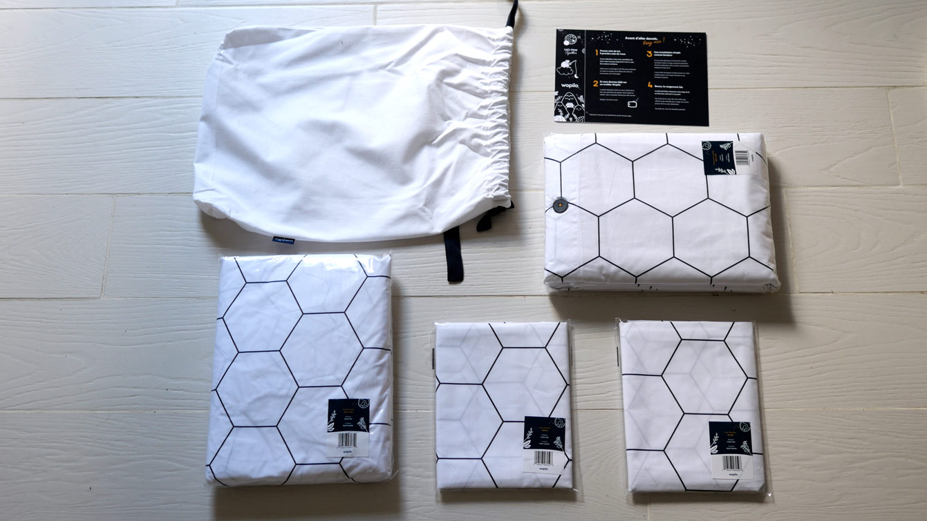 Linge de lit éco-responsable : la parure en coton bio de Wopilo...