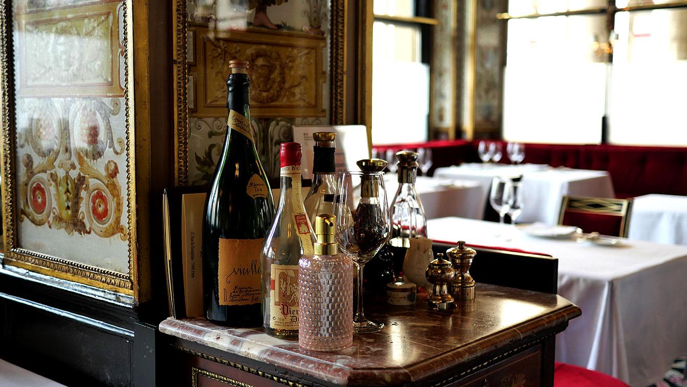 Restaurant Le Grand Véfour : délicieusement rétro