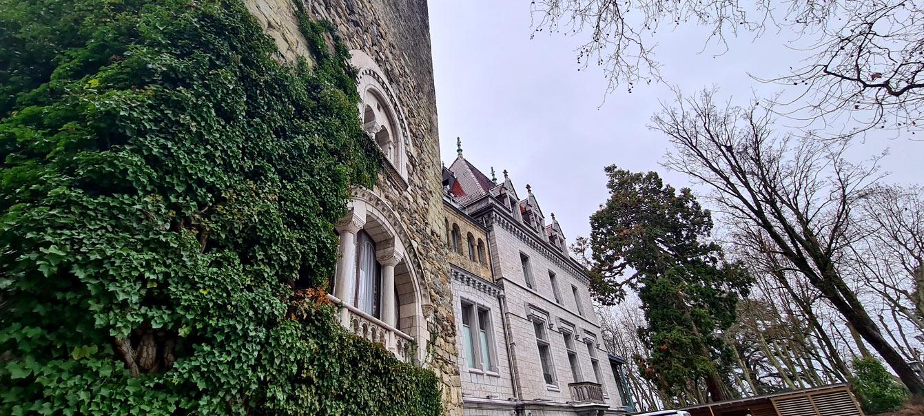 château d'Ouchy en Suisse