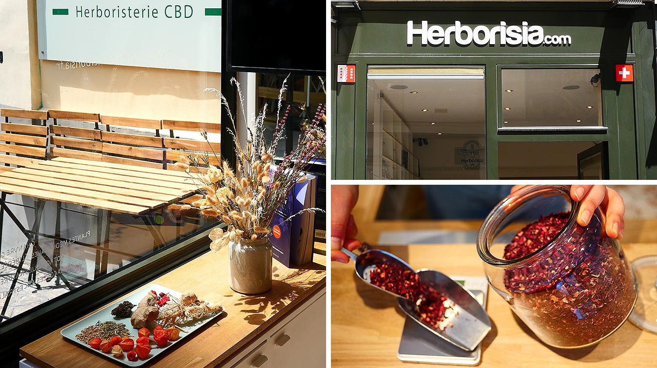 Herborisia : cbd shop et herboristerie