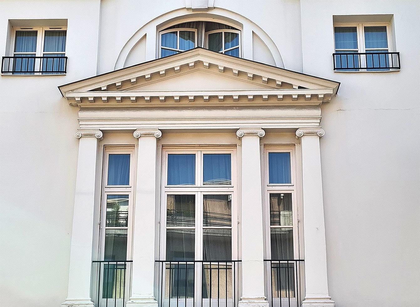 Hôtel particulier Gilbert des Crances, rue Gambetta Boulogne-Billancourt